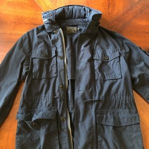 J.Crew Field mechanic jacket, Navy, Medium.